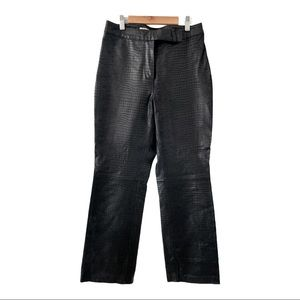 AMI Real Leather Straight Leg Pant One Of A Kind!